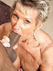 Big, Black Cock For A 70Something MILF!