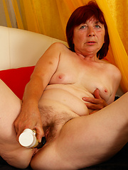 Marie is 65 and still taking the cock like an old pro!
