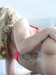 Blonde MILF Surprise. Simone Sonay