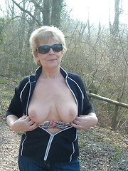 Country mature sluts showing tits for everybody