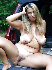 Mature wives driven away and got undressed